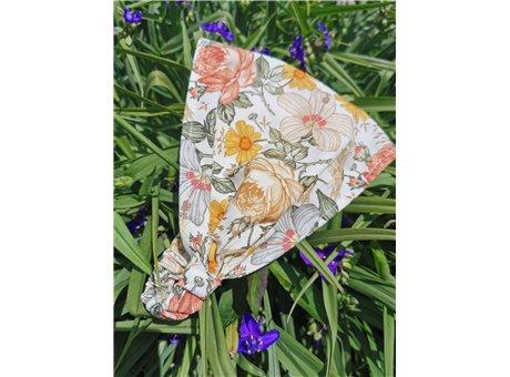 Letnia opaska musztardowe kwiaty