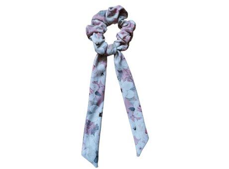 Scrunchie tie  pastel rose