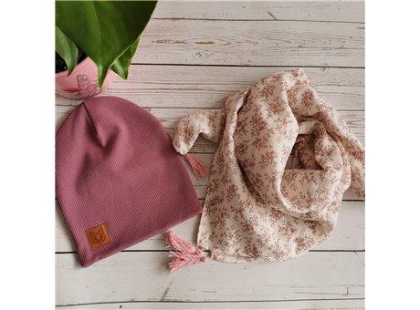komplet lilia z  muslinem